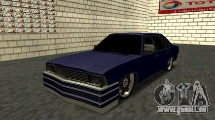 Chevrolet Malibu 1980 V3 Super Tuning Blue pour GTA San Andreas
