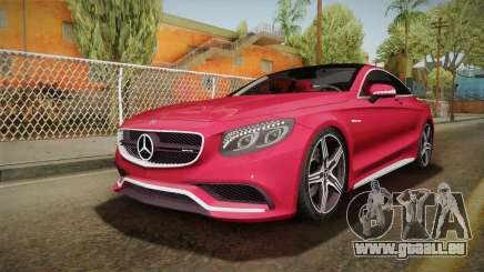 Mercedes-Benz S63 AMG Coupe 2015 v2 pour GTA San Andreas