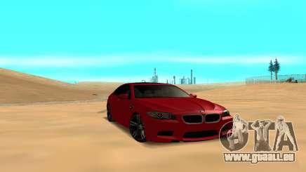 BMW 5 Series F10 pour GTA San Andreas