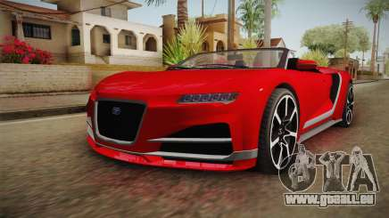GTA 5 Truffade Nero Spyder pour GTA San Andreas