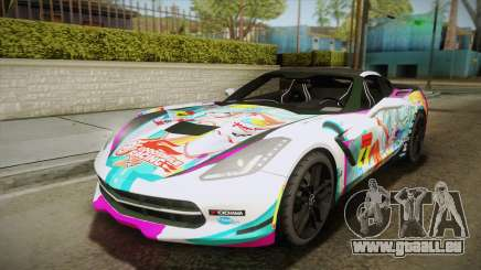 Chevrolet Corvette Z51 C7 2014 GOODSMILE Racing pour GTA San Andreas