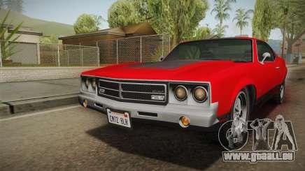 GTA 5 Declasse Sabre GT SA Style pour GTA San Andreas