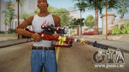 Vindi Xmas Weapon 7 für GTA San Andreas
