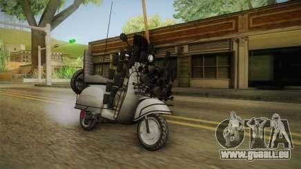 GTA 5 Pegassi Faggio Extreme Tuning v2 pour GTA San Andreas