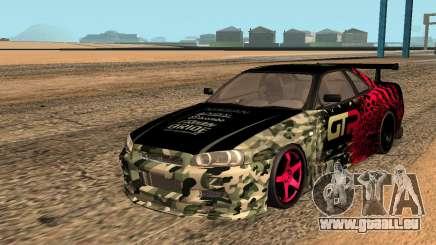 Nissan GTR R34 GTR CLAN для GTA San Andreas pour GTA San Andreas
