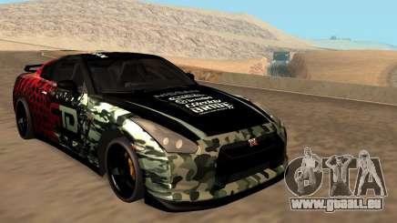 Nissan GTR R35 GTR CLAN pour GTA San Andreas