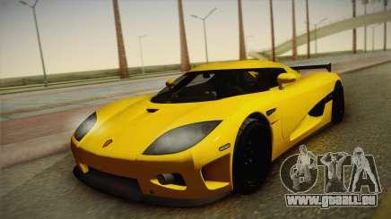 Koenigsegg CCXR für GTA San Andreas