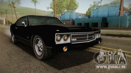 GTA 5 Declasse Sabre GT SA Style Painted Bumpers pour GTA San Andreas