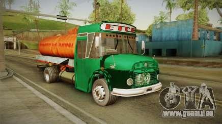 1114 (Bus) Recortado a Camion pour GTA San Andreas