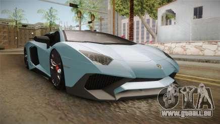 Lamborghini Aventador SV Roadster 2017 für GTA San Andreas