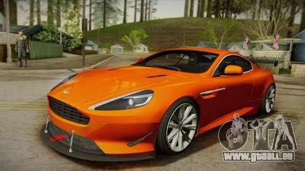 Aston Martin Virage 2012 für GTA San Andreas
