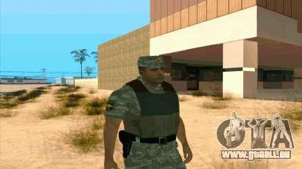 Un Policier Anti-Émeute pour GTA San Andreas