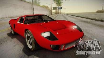 Ford GT40 TwinTurbo für GTA San Andreas