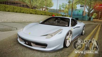 Ferrari 458 Italia FBI pour GTA San Andreas