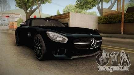 Mercedes-Benz AMG GT FBI 2016 pour GTA San Andreas