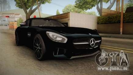 Mercedes-Benz AMG GT FBI 2016 für GTA San Andreas