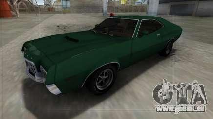 1972 Ford Gran Torino FBI für GTA San Andreas