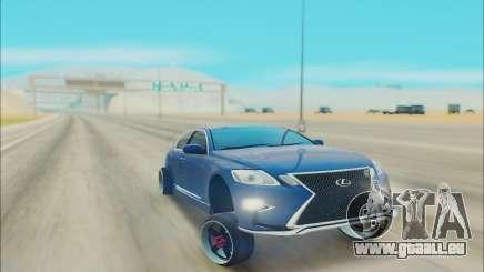 LEXUS GS 450 pour GTA San Andreas