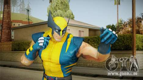 Marvel Heroes - Wolverine Modern UV No Claws pour GTA San Andreas