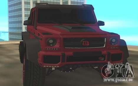 BRABUS G6x6 pour GTA San Andreas