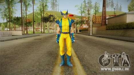 Marvel Heroes - Wolverine Modern UV No Claws für GTA San Andreas zweiten Screenshot