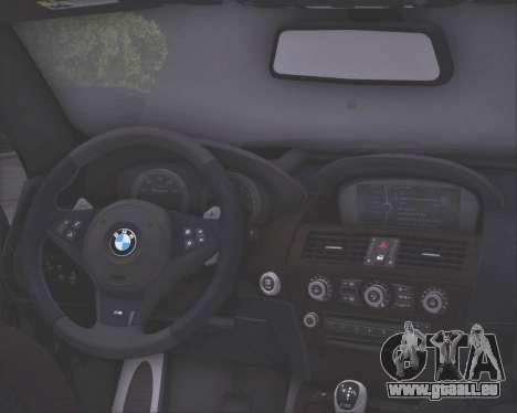BMW M6 G-Power Hurricane RR pour GTA San Andreas vue de côté