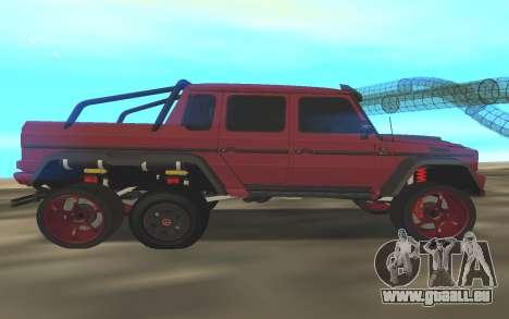 BRABUS G6x6 pour GTA San Andreas laissé vue