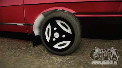 Dacia 1310 GPL für GTA San Andreas Rückansicht
