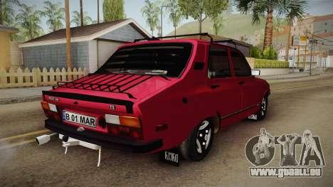 Dacia 1310 TX 1985 für GTA San Andreas zurück linke Ansicht