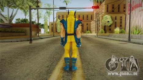 Marvel Heroes - Wolverine Modern UV No Claws für GTA San Andreas dritten Screenshot