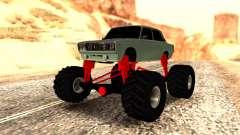 Vaz 2107 Monster pour GTA San Andreas