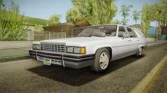 GTA 5 Albany Emperor Hearse IVF pour GTA San Andreas