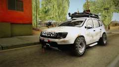 Dacia Duster Mud Edition für GTA San Andreas