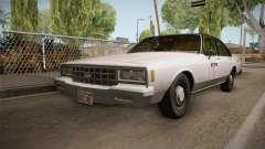 Chevrolet Impala Taxi 1985 IVF pour GTA San Andreas