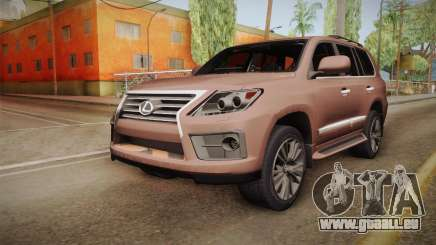Lexus LX 570 Final Version für GTA San Andreas