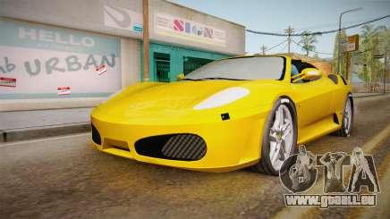 Ferrari F430 Spyder pour GTA San Andreas