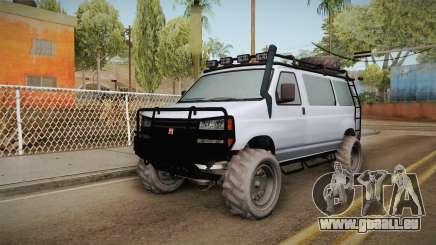 GTA 5 Bravado Rumpo Custom pour GTA San Andreas