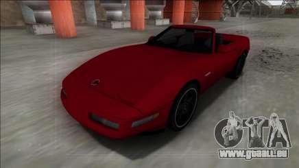 1996 Chevrolet Corvette C4 Cabrio pour GTA San Andreas