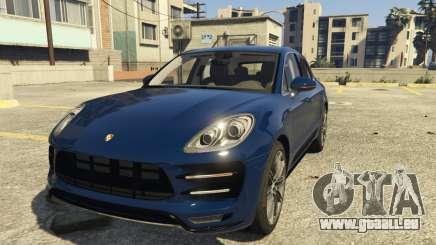 Porsche Macan Turbo 2016 pour GTA 5