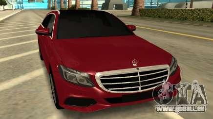 Mercedes Benz C63 AMG Station Wagon 2015 pour GTA San Andreas