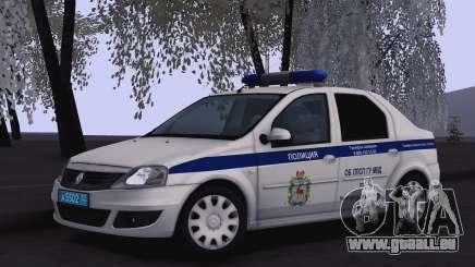 Renault Logan pour Moi pour GTA San Andreas