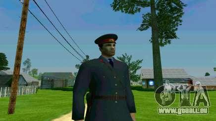 Le capitaine de la police de l'URSS pour GTA San Andreas