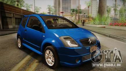 Citroen C2 VTR Accordable pour GTA San Andreas