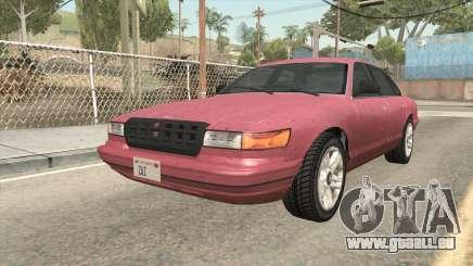 GTA 5 Vapid Stanier SA Style pour GTA San Andreas