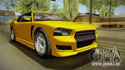 GTA 5 Bravado Buffalo 2-doors Cabrio IVF für GTA San Andreas