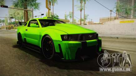 Ford Mustang NFS Green für GTA San Andreas