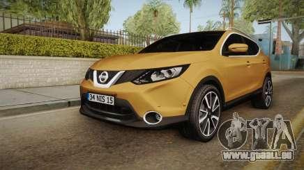 Nissan Qashqai 2016 IVF für GTA San Andreas