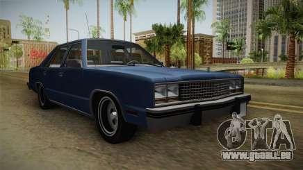 Ford Zephyr 1982 pour GTA San Andreas