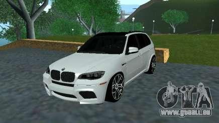 BMW X5 E70 Armenian pour GTA San Andreas