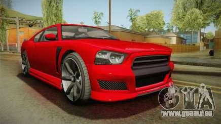 GTA 5 Draufgängertum Buffalo 2-Türer Coupe IVF für GTA San Andreas